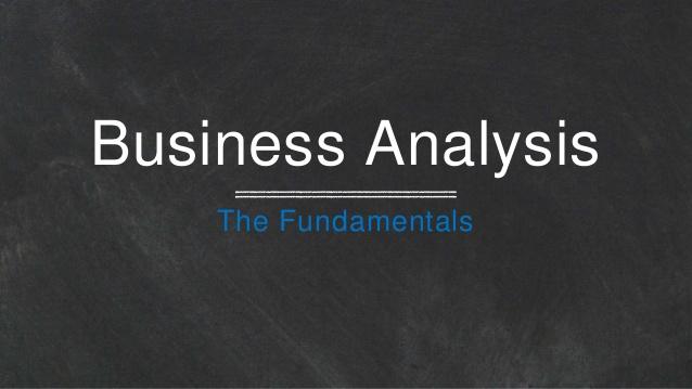 مبانی تجزیه و تحلیل بیزینس Business Analysis Fundamentals